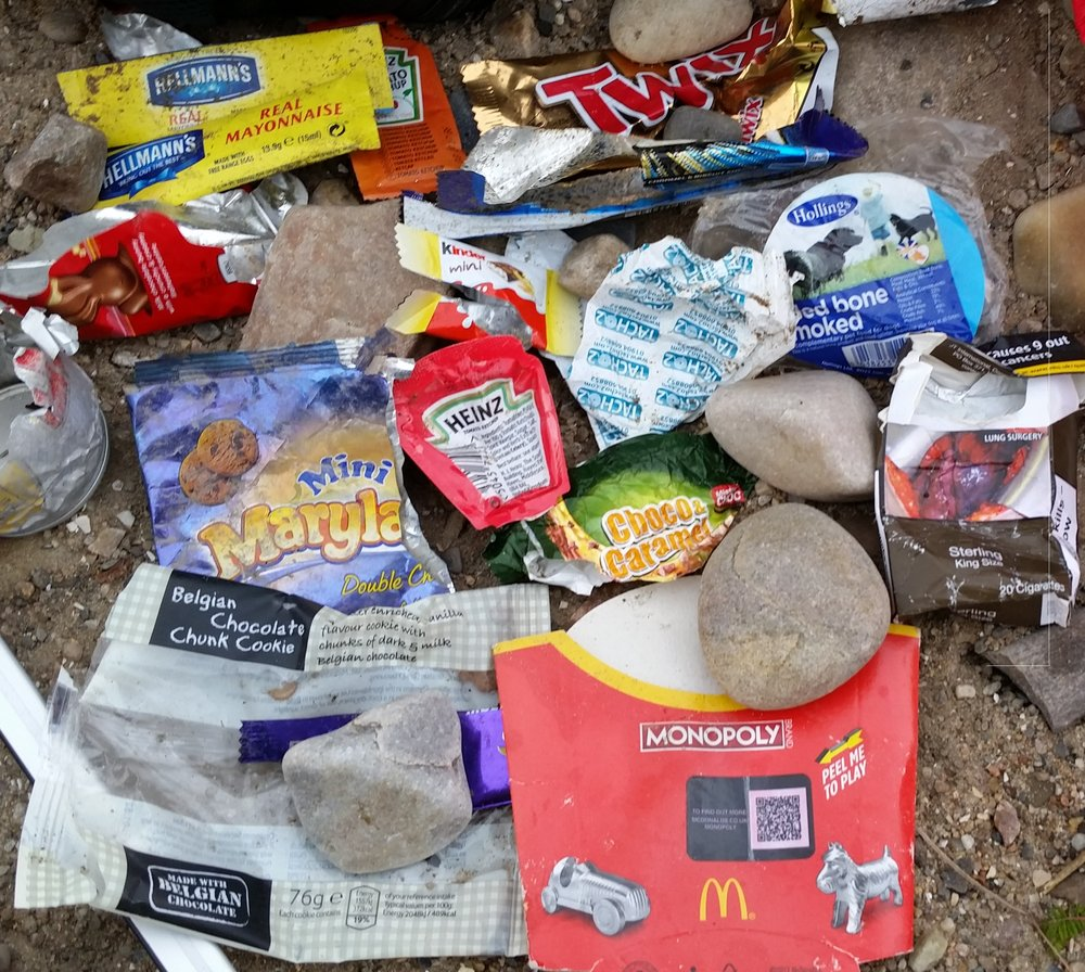 Name and shame of the brands we found littered on the beach.