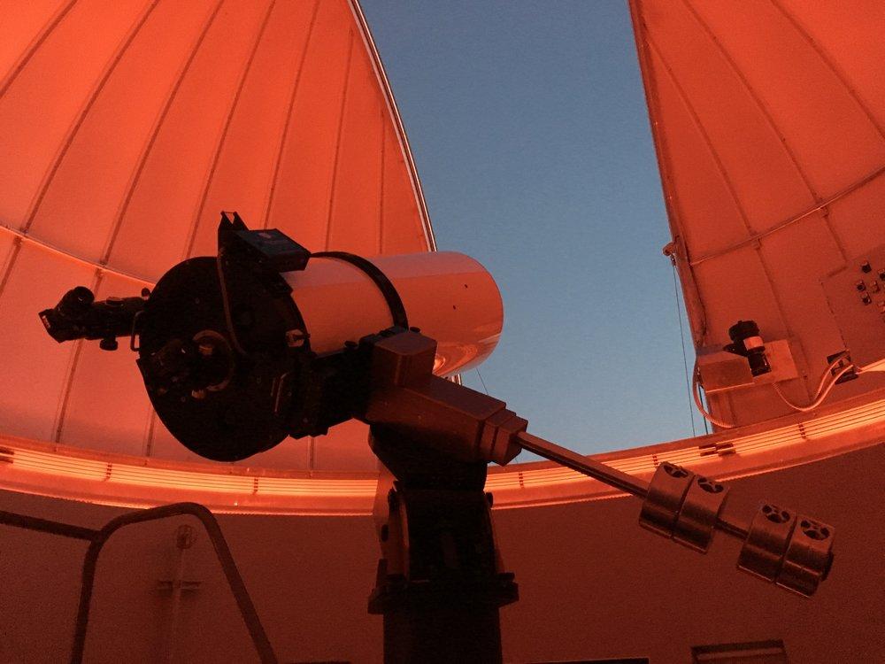 Worthy's 16 inch Ritchy-Chretién telescope
