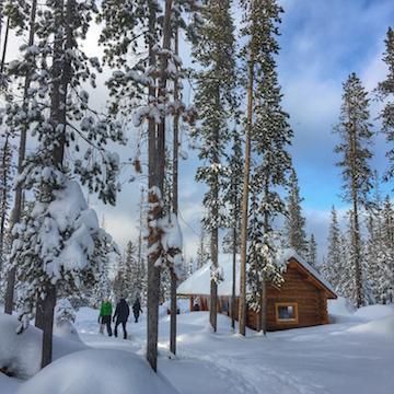 Locals Compass Snowshoeing