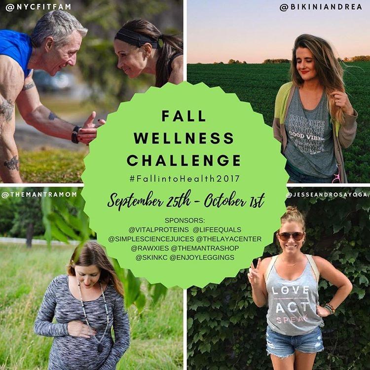 #FallIntoWellness IG Challenge - Join Us!