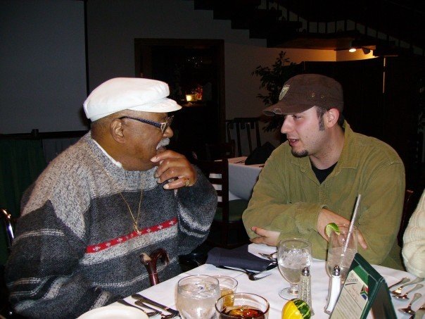 Clark Terry & Klaxton @ New England Center Hotel / Acorn's Restaurant UNH campus circa 2004/5