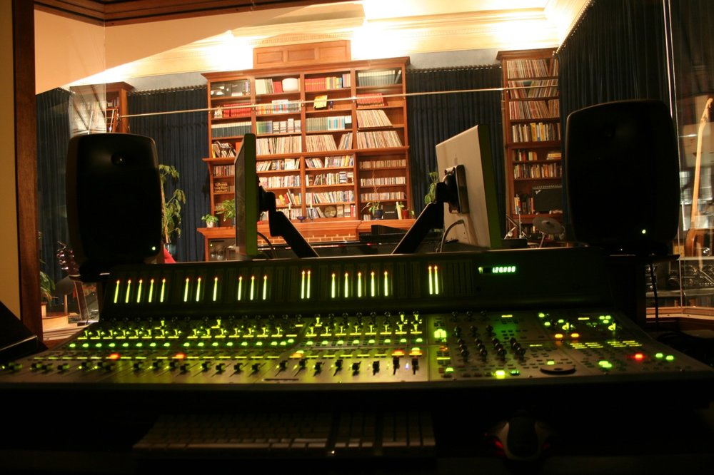 The Control Room at our first studio, near Atlanta's Piedmont Park.