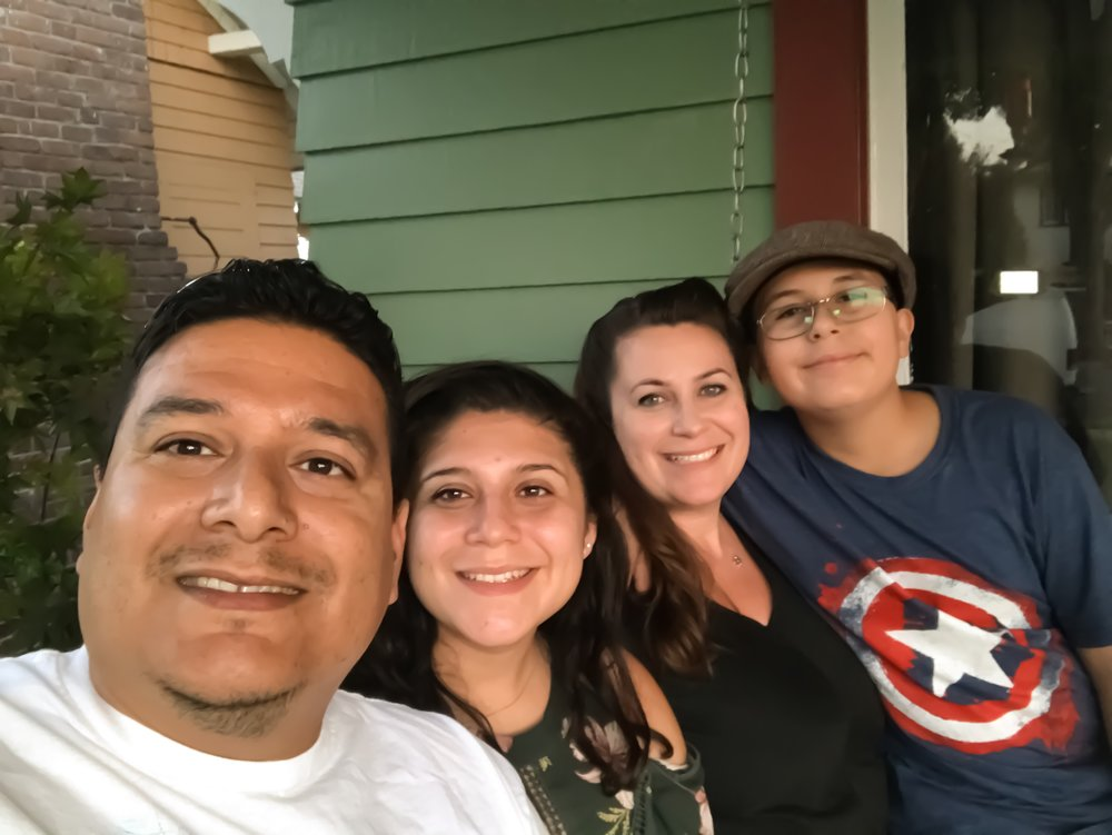 The Medrano family moved into their Covina home about a year ago and they say they are not concerned about the demographic changes underway in their city. (Photo provided by Shannon Medrano)