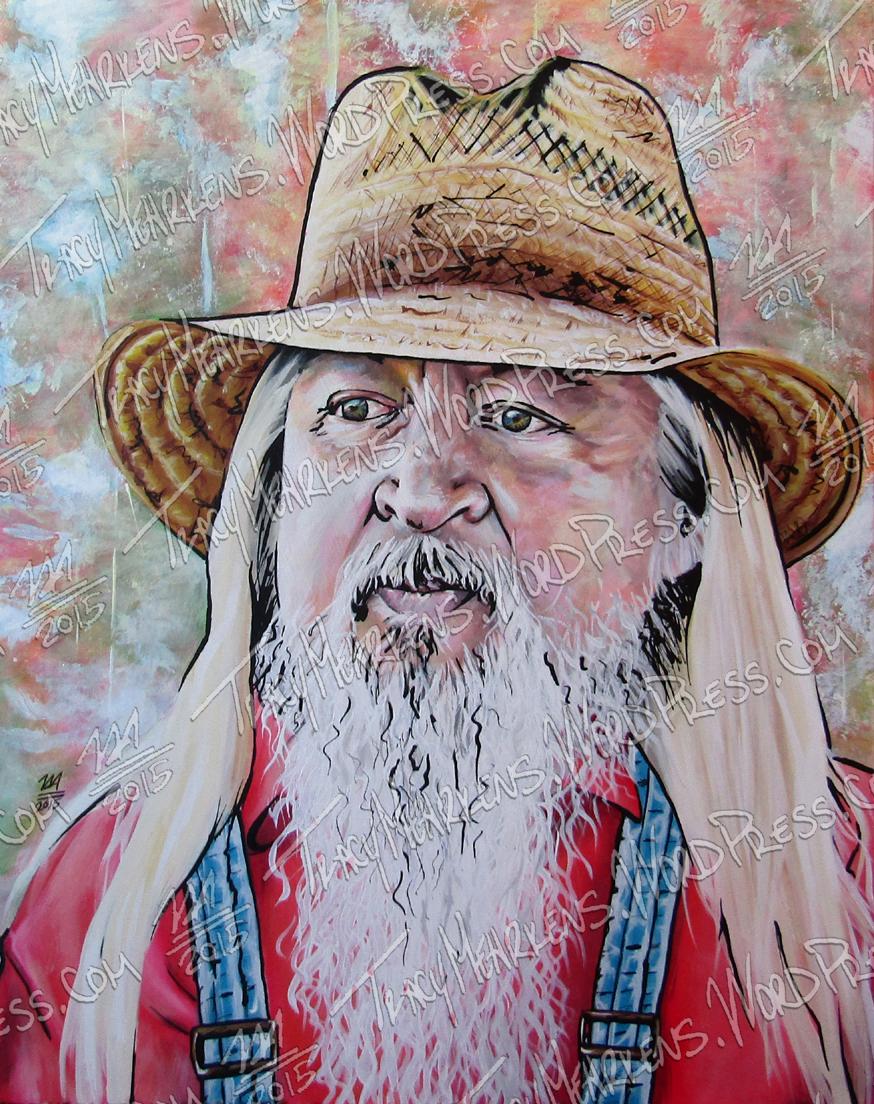 Gary. Acrylic on Canvas. 24x36 in. 2015.