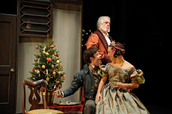 Shelley Fort as Lucy in A Christmas Carol at Trinity Rep (Credit: Mark Turek/Trinity Rep)