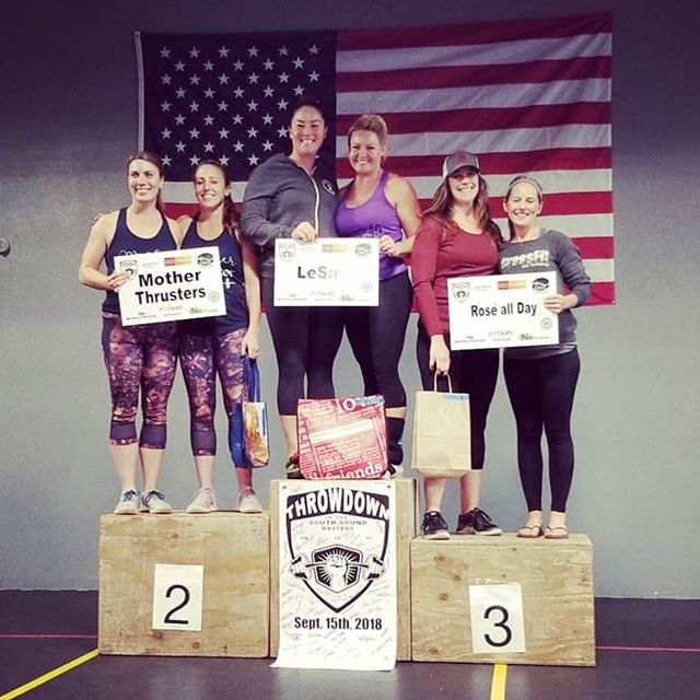 Checkout these ROCKSTAR DOXSA LADIES! #1 at the @throwdowninsouthsound