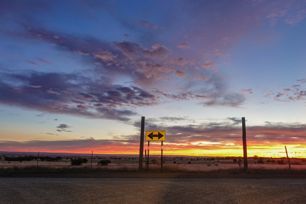 New Mexico Sunrise- Steve Ettinger - Road Trip Photo - Driving Photo- Travel Photo