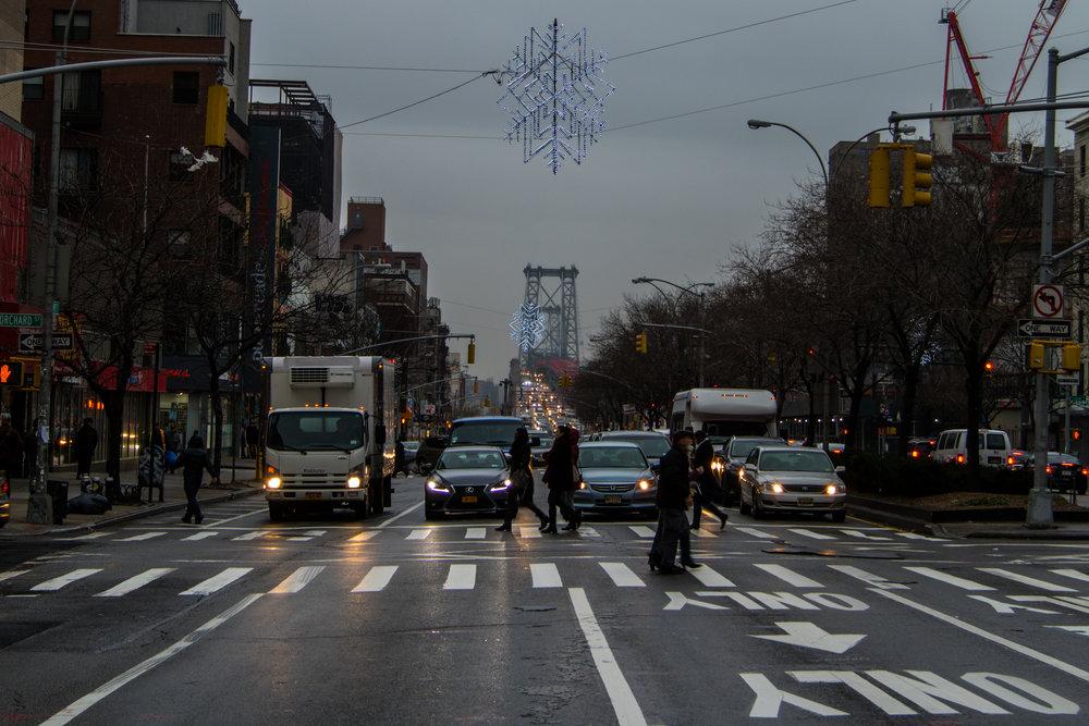NYC Rainy Bridge - Steve Ettinger