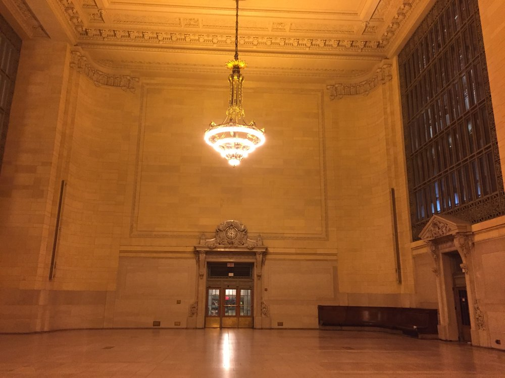 Empty Grand Central - NYC Photo- Travel Photo- Road Trip Photo- Steve Ettinger