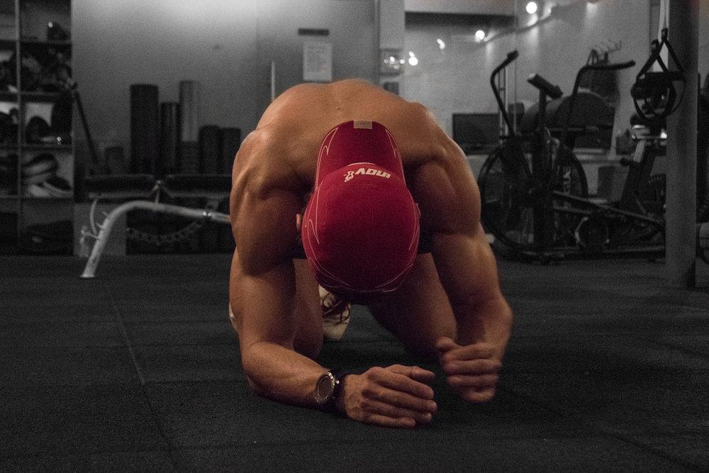 Tough Workout- Steve Ettinger - Fitness Photo