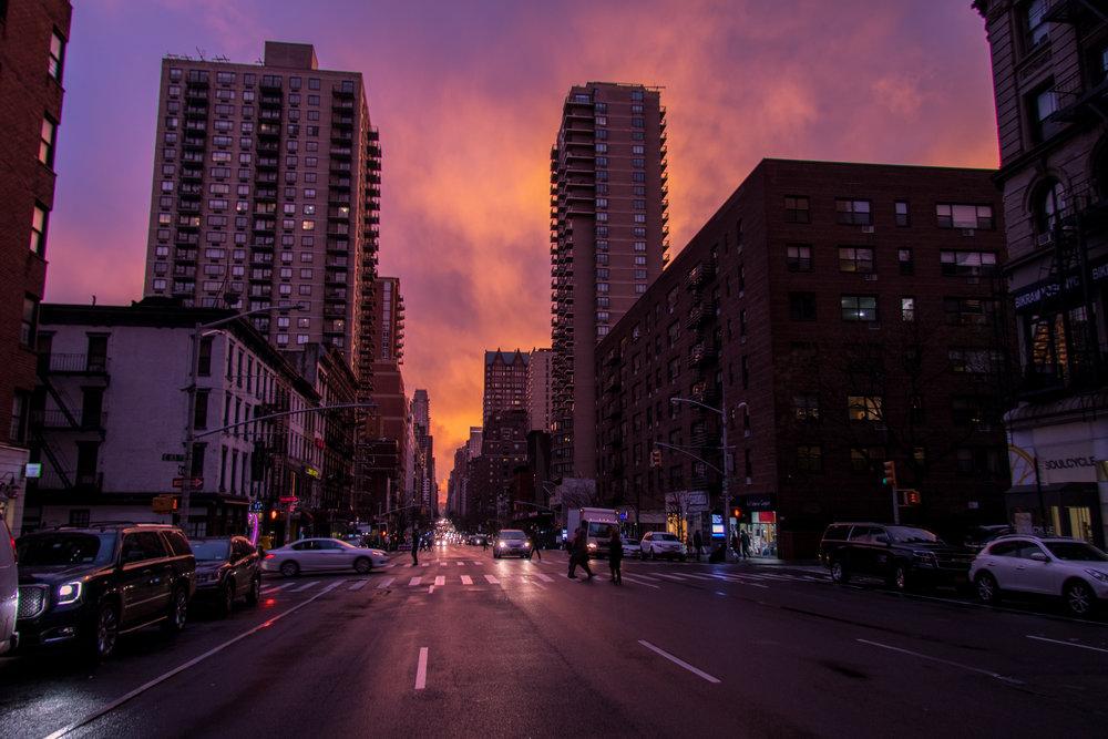 New York City Sunset 3 - Steve Ettinger