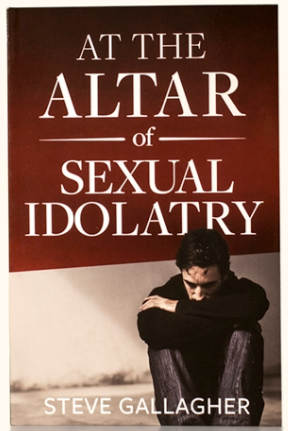 At the Altar of Sexual Idolatry, Steve Gallagher:  • Exposes the real roots of sexual addiction  • Clearly marks the path to a victorious life  • Affirms the authority of God's Word through personal testimony.  In the most comprehensive treatment of sexual addiction available, Gallagher shows men how to destroy the idol of lust and paves the way for a radical transformation of their heart and life. -