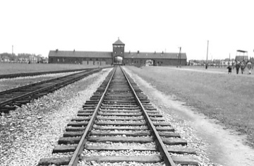 Auschwitz Train Entrance