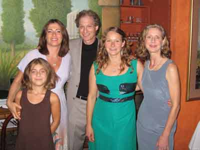 From Left to Right: The Somethings, Me, my daughter Carle, my wife LIsa
