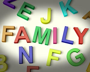 Family-in-Kid-letters