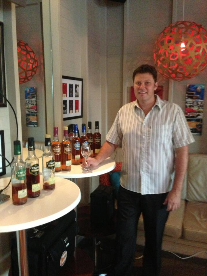The silence before the Cubaney storm. Thanks to the Rum Baron, Justin Boseley from Cubaney Rum