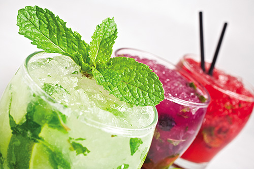 Our famous Mojito's!