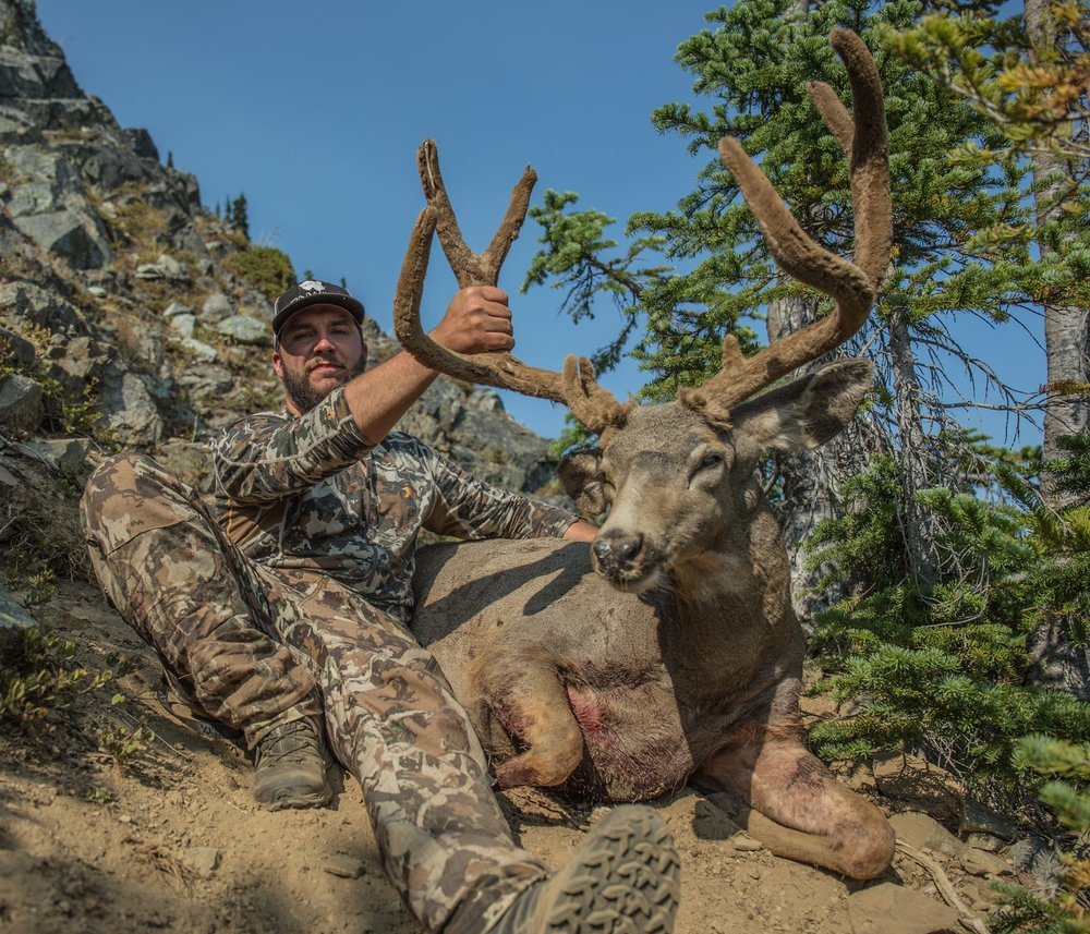 JEFF ROBERTS   Jeff is PNWild's founding member. He is 28 years old, and a lifetime resident of western Washington. Backcountry hunting is one of Jeff's great passions, along with wildlife photography and filming. When it's not a bow, or a rifle, in his hand, it's surely a camera.