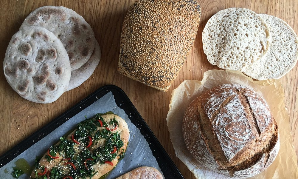 Wholesome Bread  Get healthy and learn to make a stonebaked spelt loaf, polar breads, a seeded sandwich loaf and fresh herb flat breads.