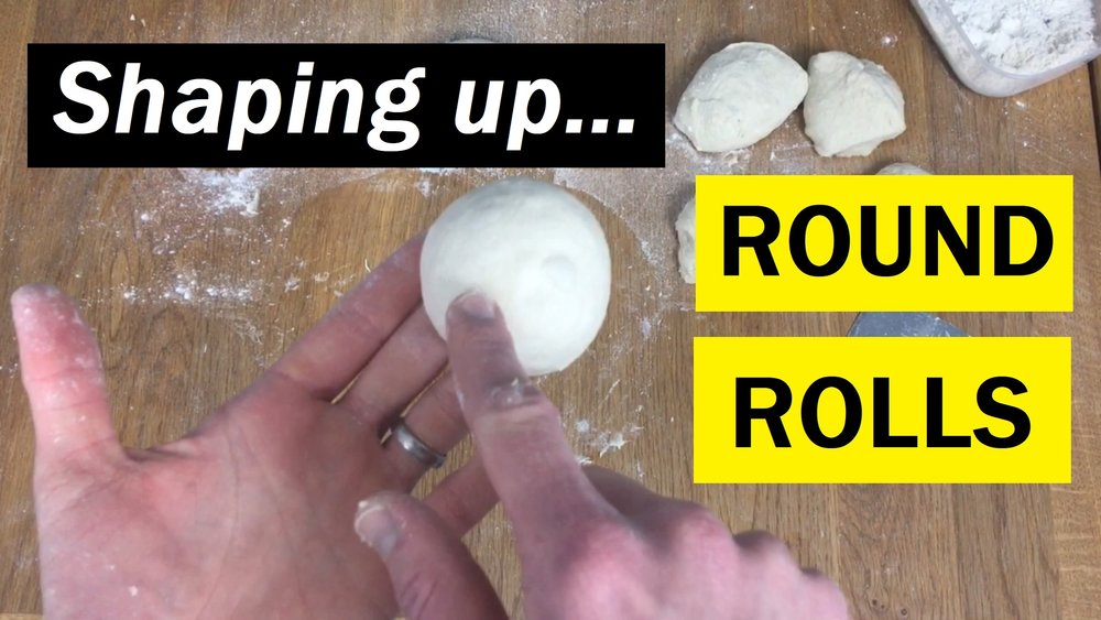 Watch next: - How to shape up perfect bread rolls