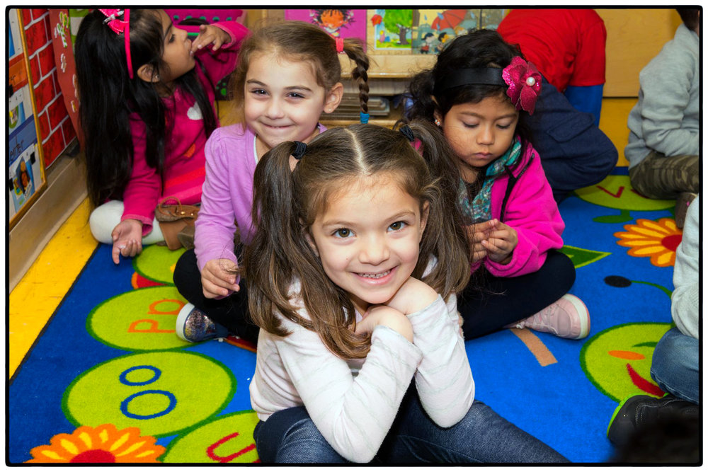WE ARE KIDS FROM REDEEMER ST. JOHN NURSERY SCHOOL...
