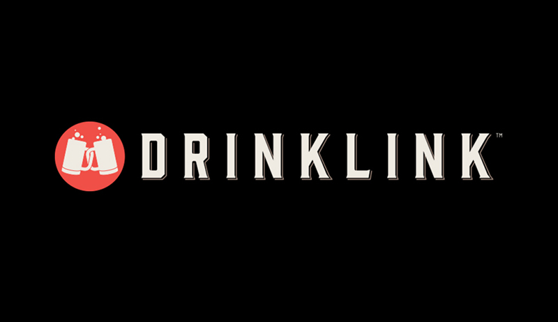 Drinklink Logo + Logotype