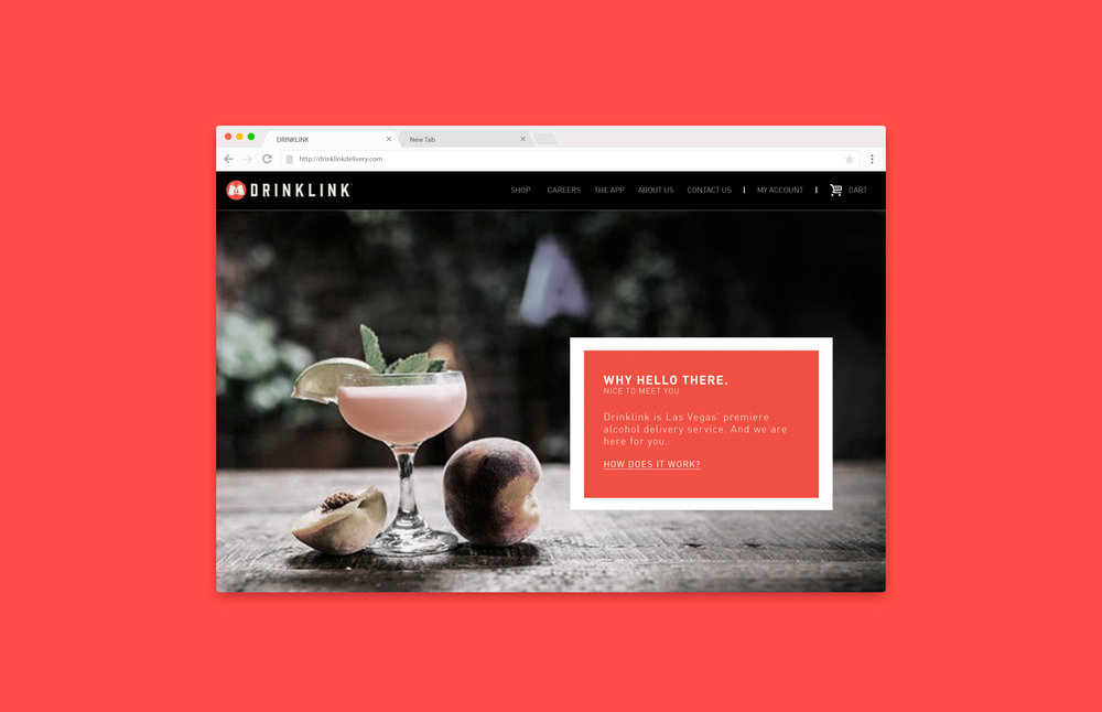 Drinklink Home Page
