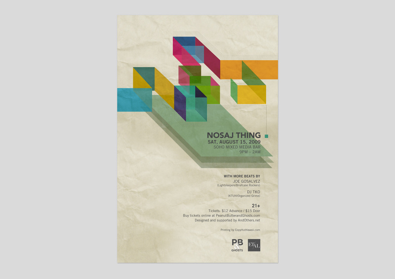 Nosaj Thing Poster