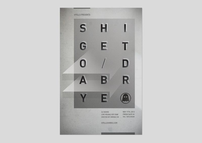 Shigeto / Dabrye Poster (2012)