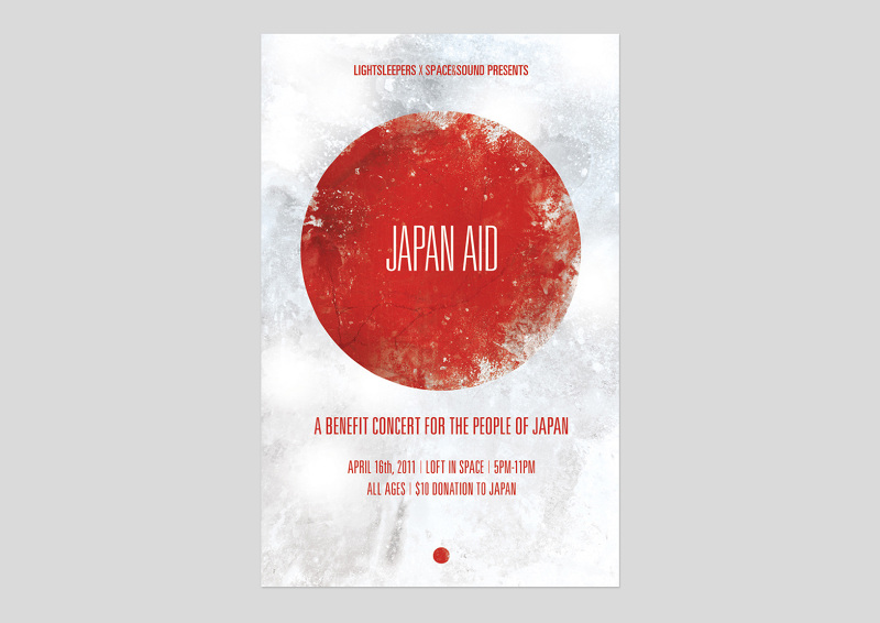 Japan Aid Poster