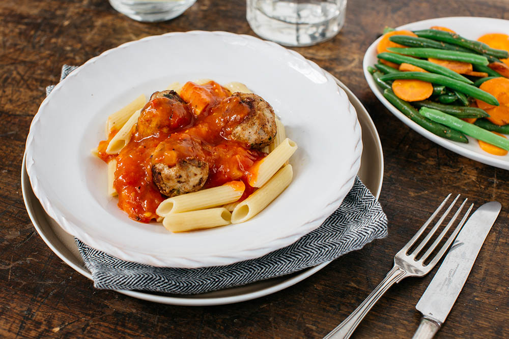 Italian Pork Meatballs