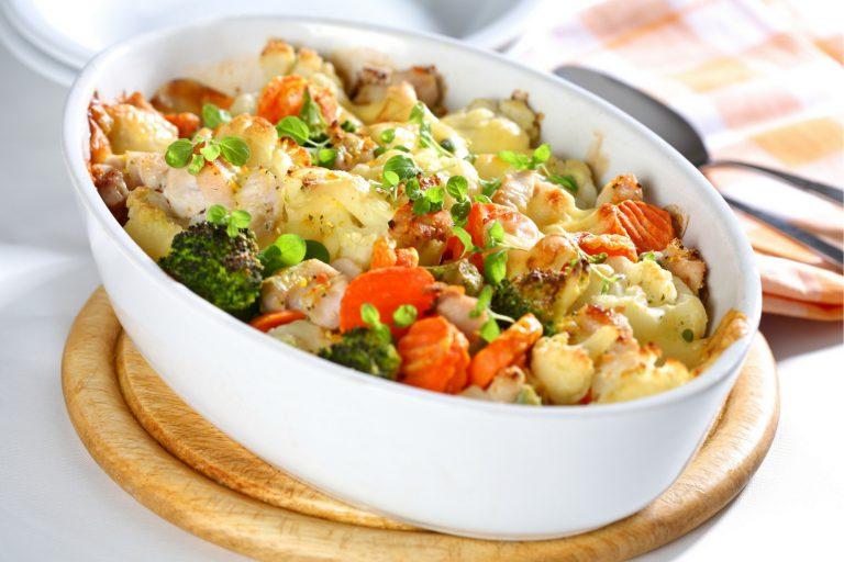 122. Chicken and Spinach Casserole