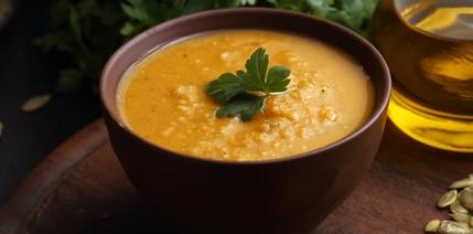 303.Pumpkin and Lentil Soup