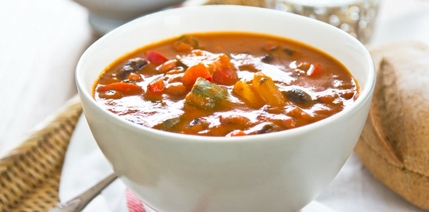 304. Vegetable, Tomato and Risoni Soup