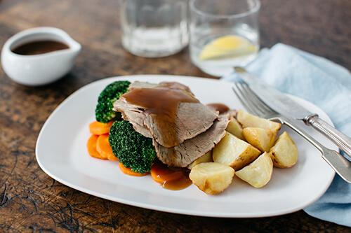 109. Roast Beef with Gravy