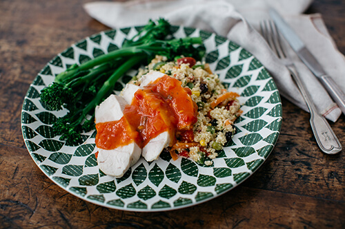 116. Spanish Chicken with Cous Cous