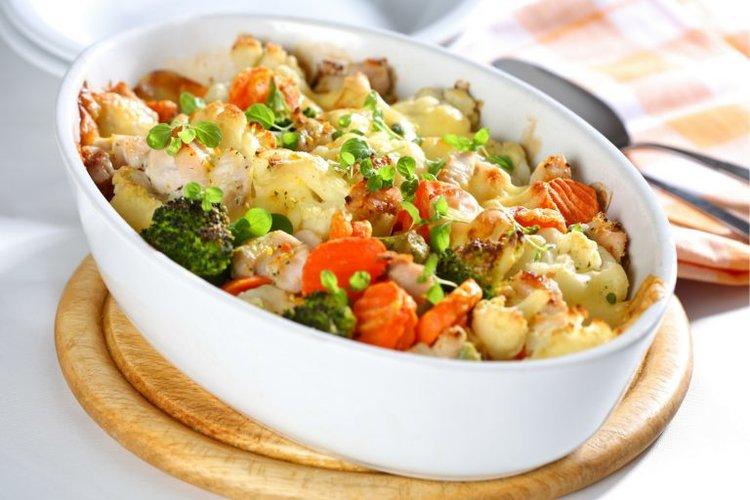 122. Chicken & Spinach Casserole