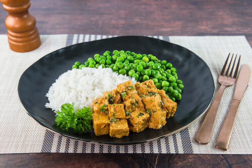 127. Tofu Yellow Coconut Curry