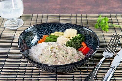 130. Chicken Thai Green Curry