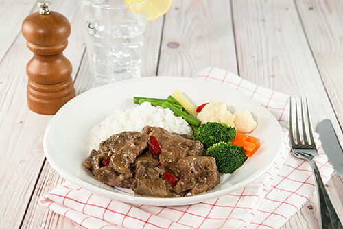 133. Beef and Black Bean Stir Fry