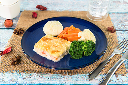 502. Chicken and Cheese Pie