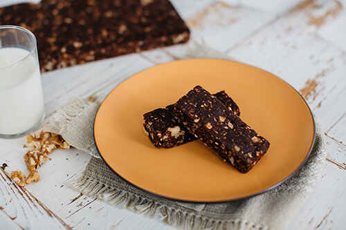 602. Date, Walnut and Cacao Bar
