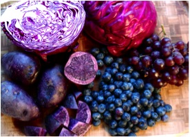 taste the blue and purple colours of the rainbow hit 100