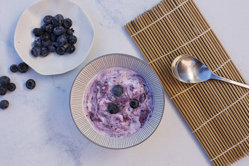 405. Chobani Blueberry Yoghurt
