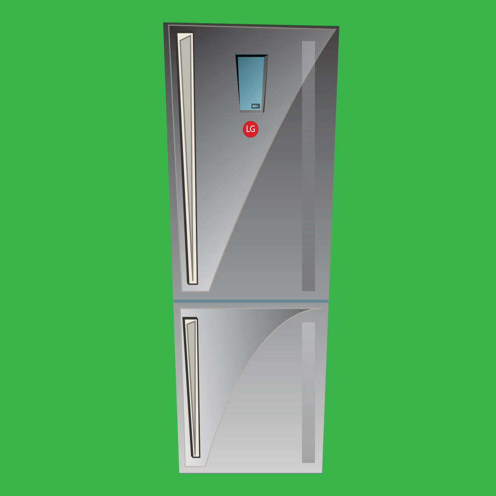 1 Grand Prize - G 310L Anti-Fingerprint Bottom Mount Fridge valued at RRP $899.