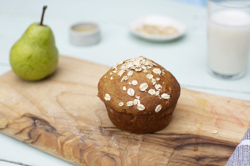 207. Oat & Pear Muffin