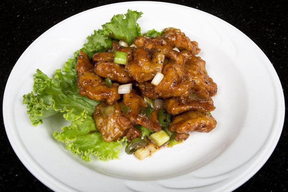 Kim tar restaurant for Fish in black bean sauce