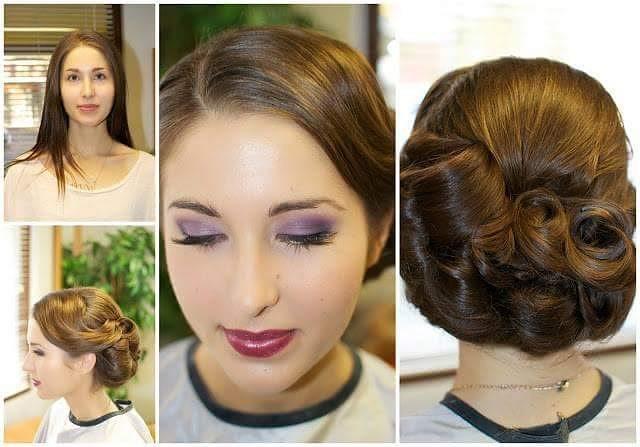 Kuvausmeikki ja kampaus @ninkadesign malli @tilulei #juhlakampaukset #kuvausmeikki #hääkampaus #photoshoot #hairdesign #makeup #hairdressing