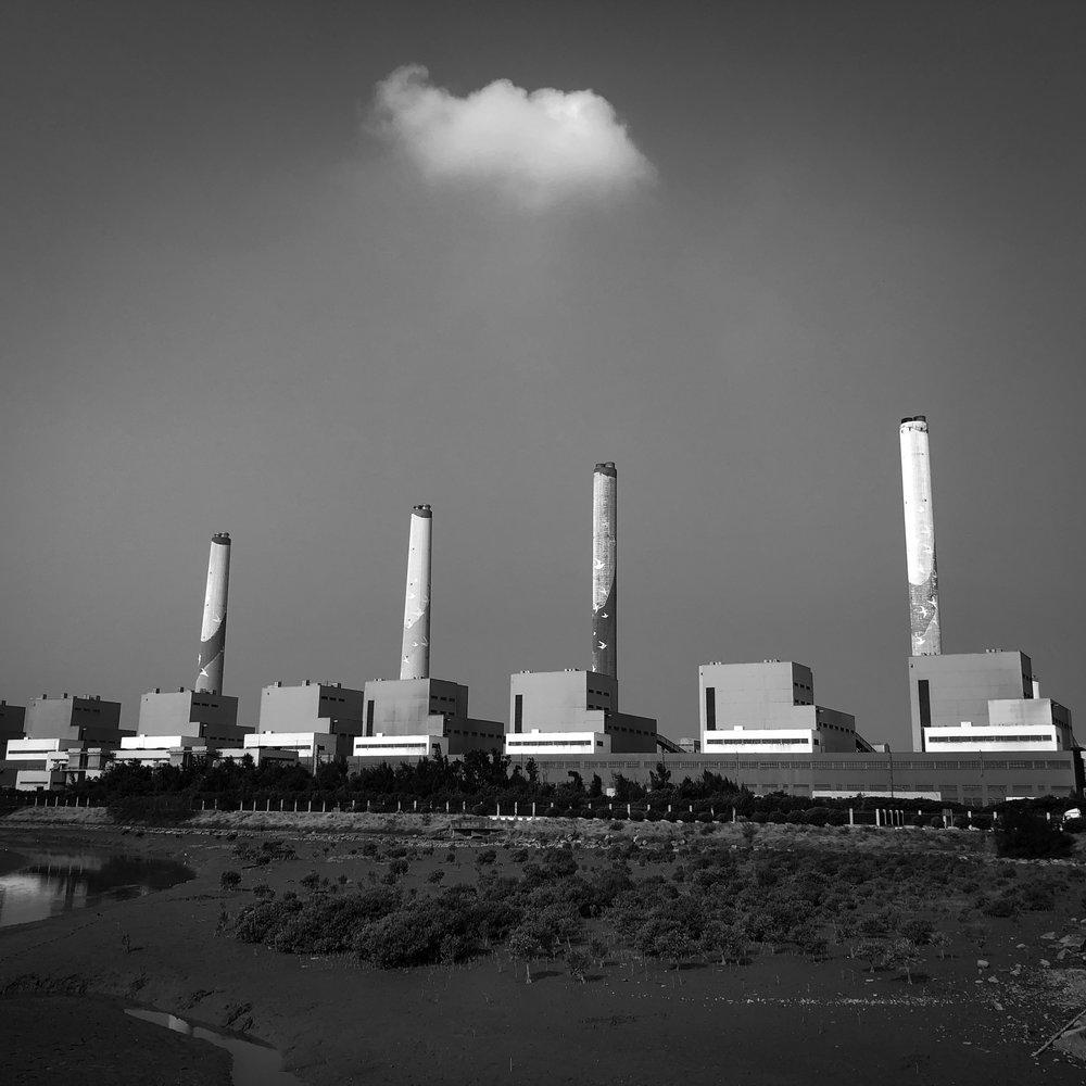 Kohlekraftwerk in Taichung