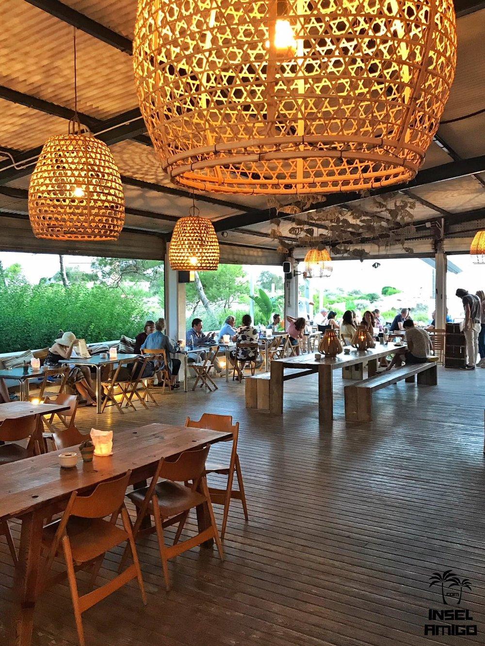 Die Bar Esperanza von innen